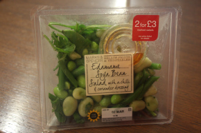 m and s two for three pound salad